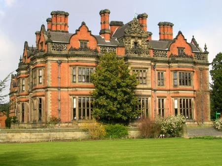 Beaumanor Hall - South Front - Sunday 6 April 2008