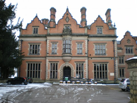 Woodhouse - Beaumanor Hall - main facade